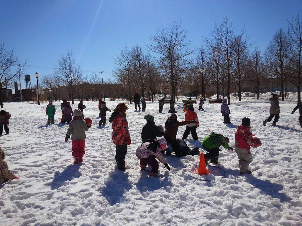 jeux hiver