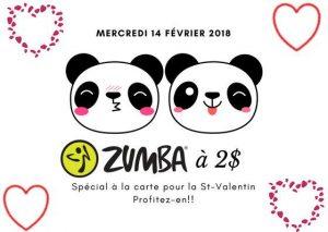 Zumba St-Valentin